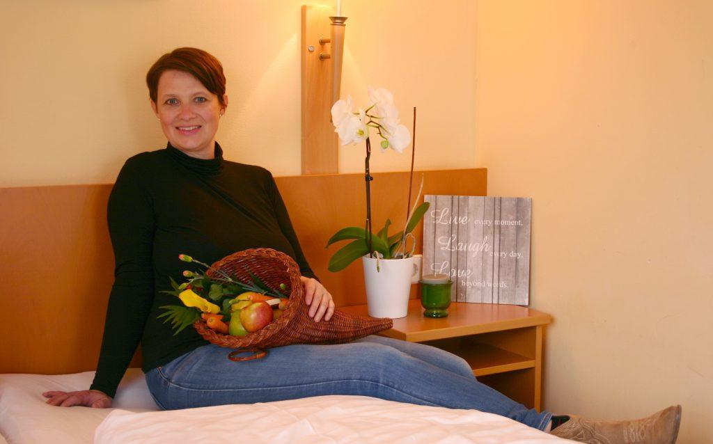 Die Gastgeberin heißt in der Unterkunft Gästehaus ST. Michael willkommen.