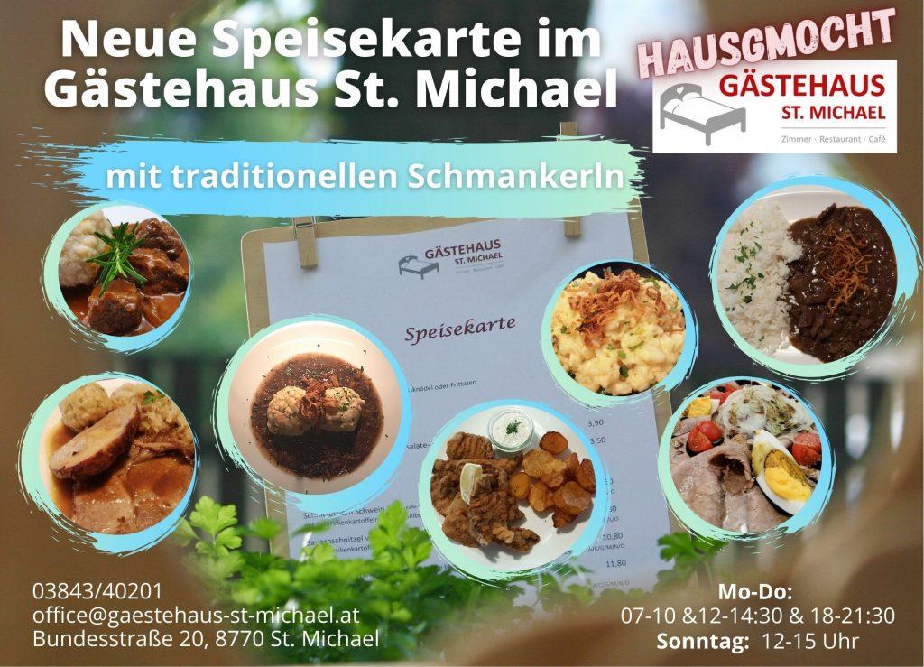 Regionale Schmankerl im Gästehaus St. Michael